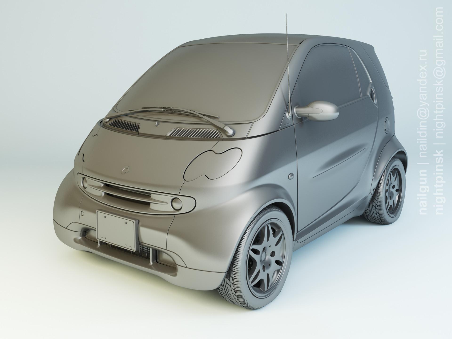 Nail khusnutdinov pwc 045 001 smart fortwo modelling rgb color 0000
