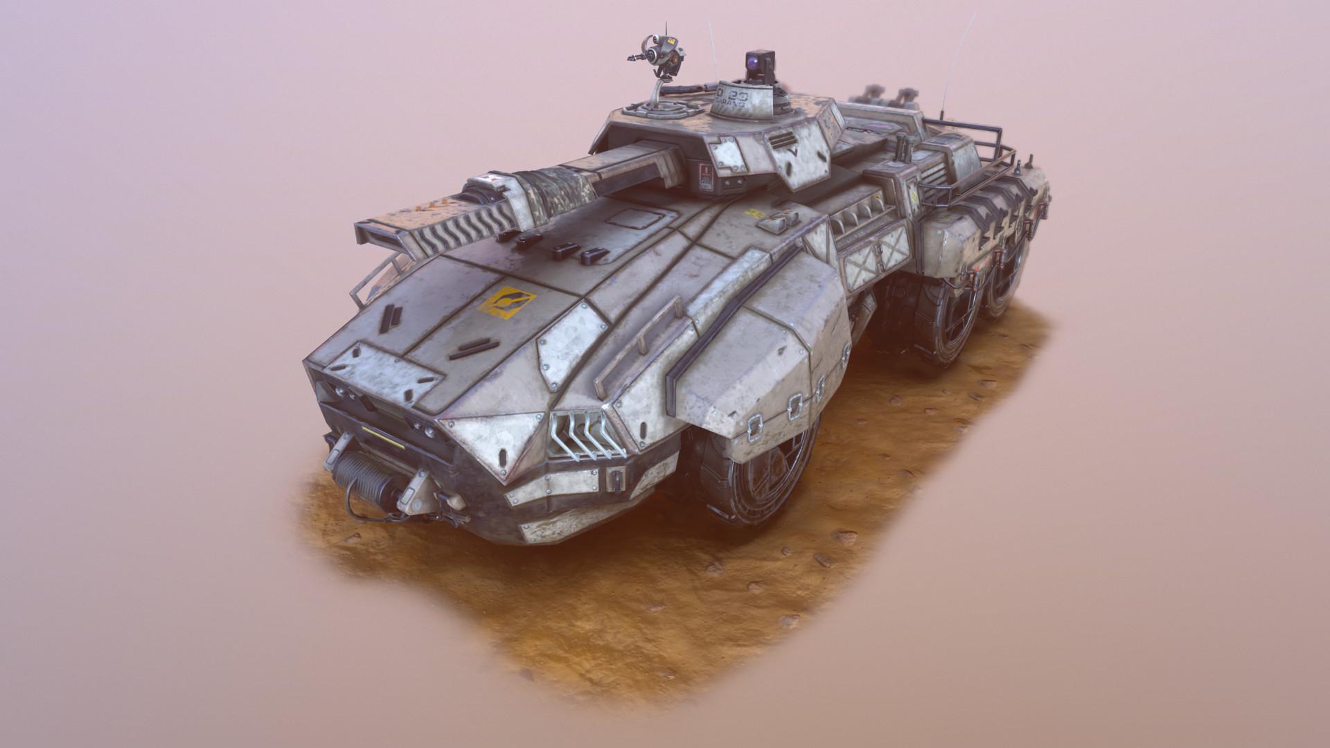 Sci-fi tank - 3DTotal Forums
