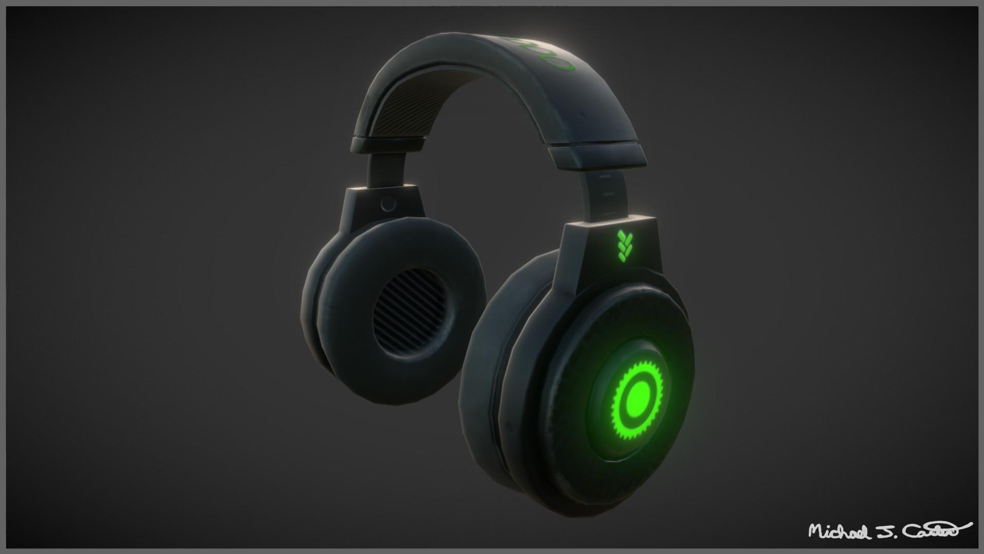 Michael jake carter mcarter headset left side image