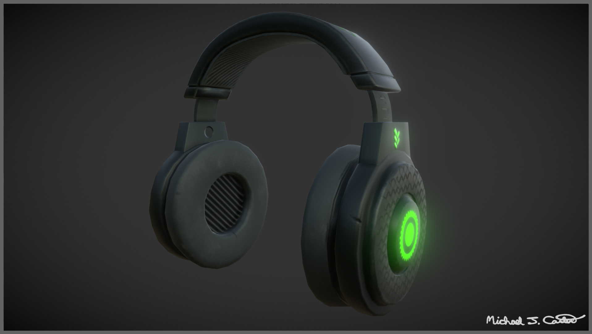 Michael jake carter mcarter headset right side image