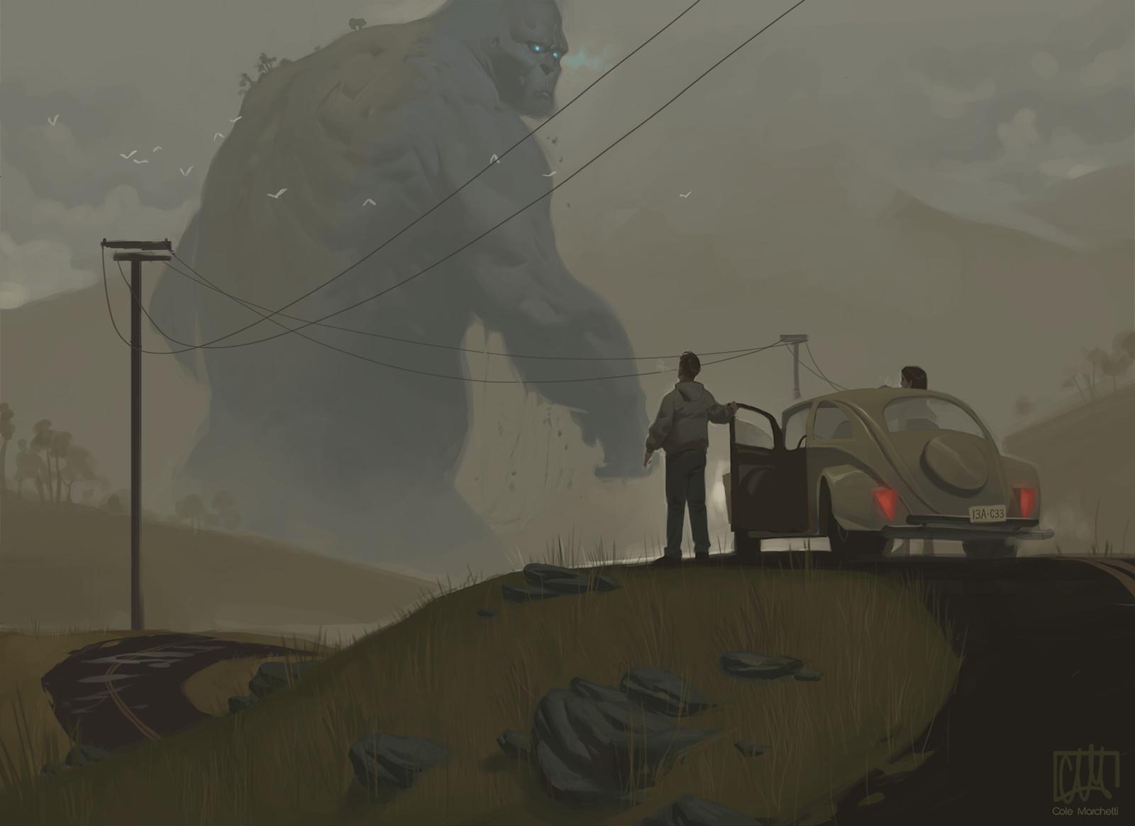 Monster in Marsh Creek