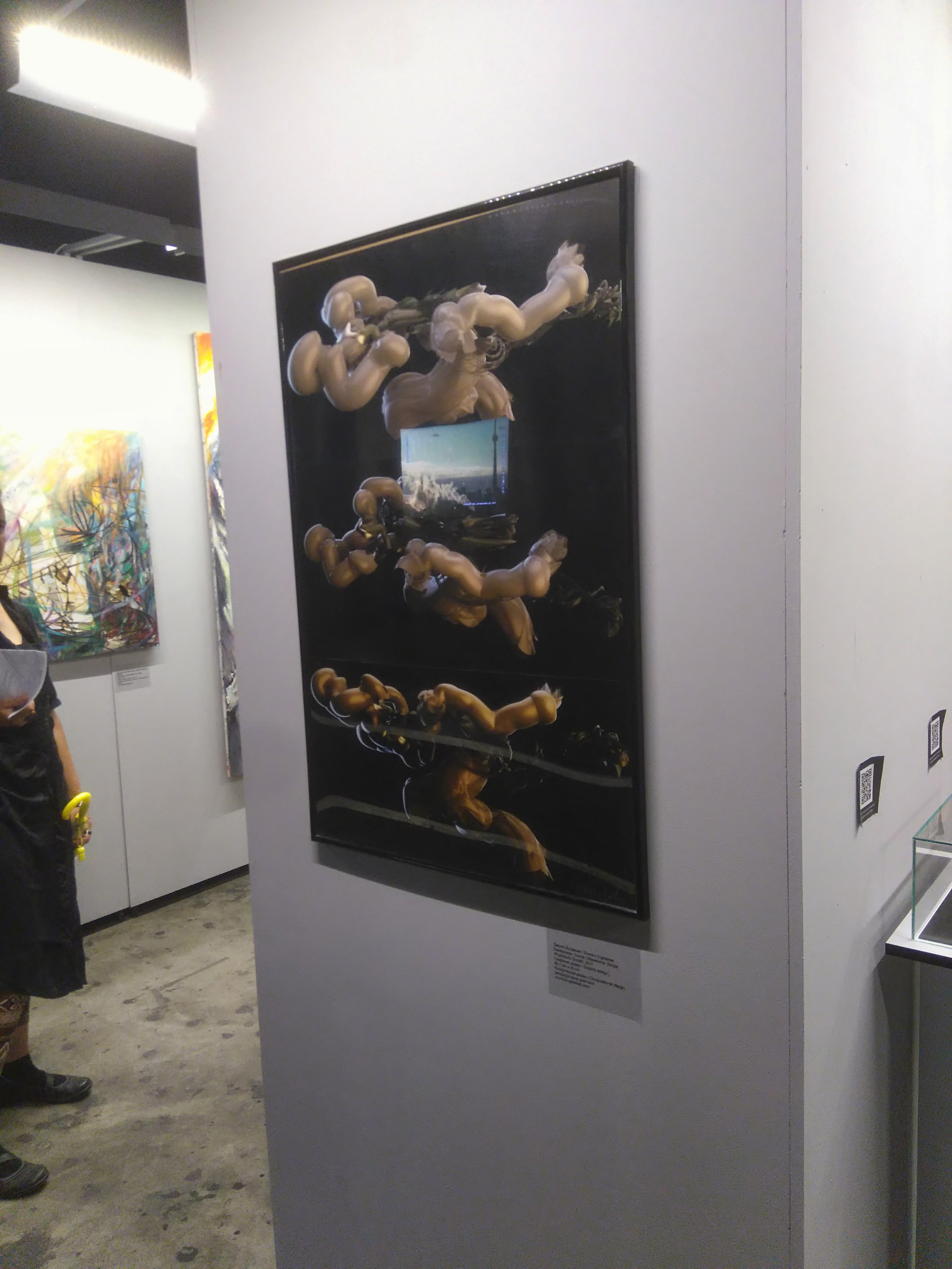 "Exhibited on ""Paratissima Skopje 2017"""