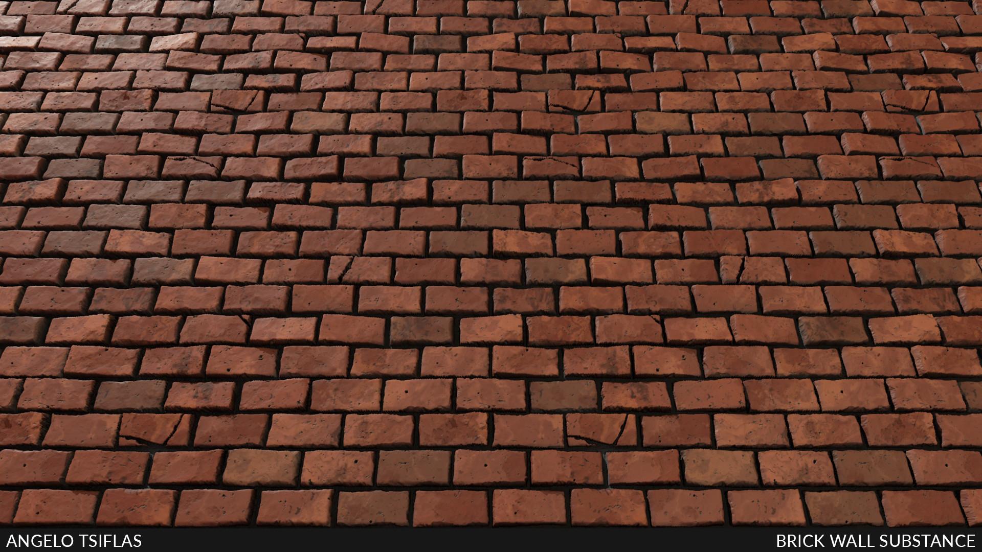 Angelo tsiflas brickwall full background