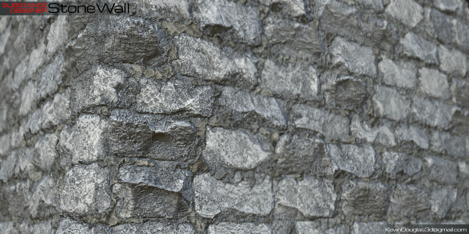 Stone Wall close up