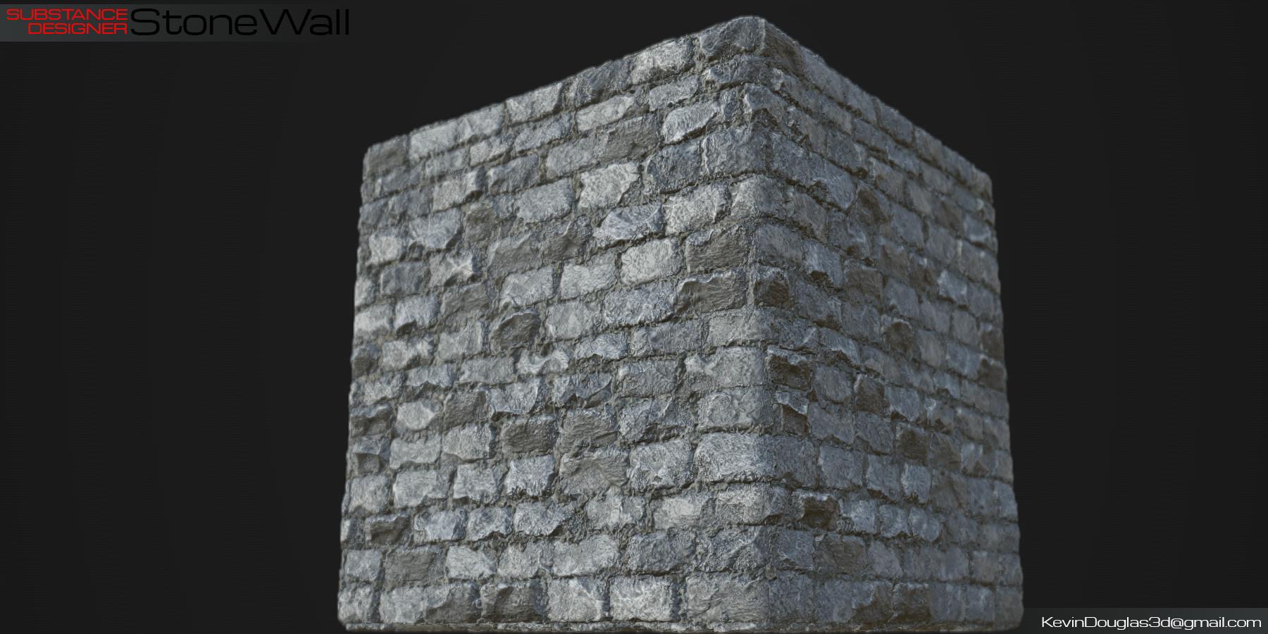 Kevin douglas stone wall beauty cube
