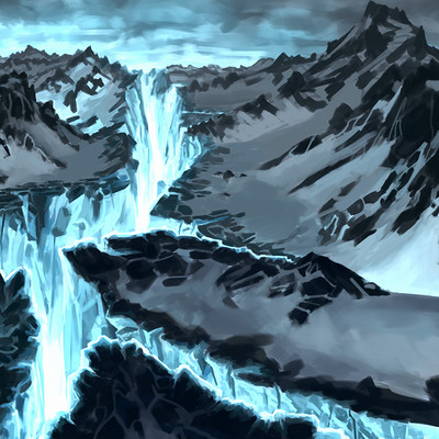 Anthony rubier peinture land arctique2