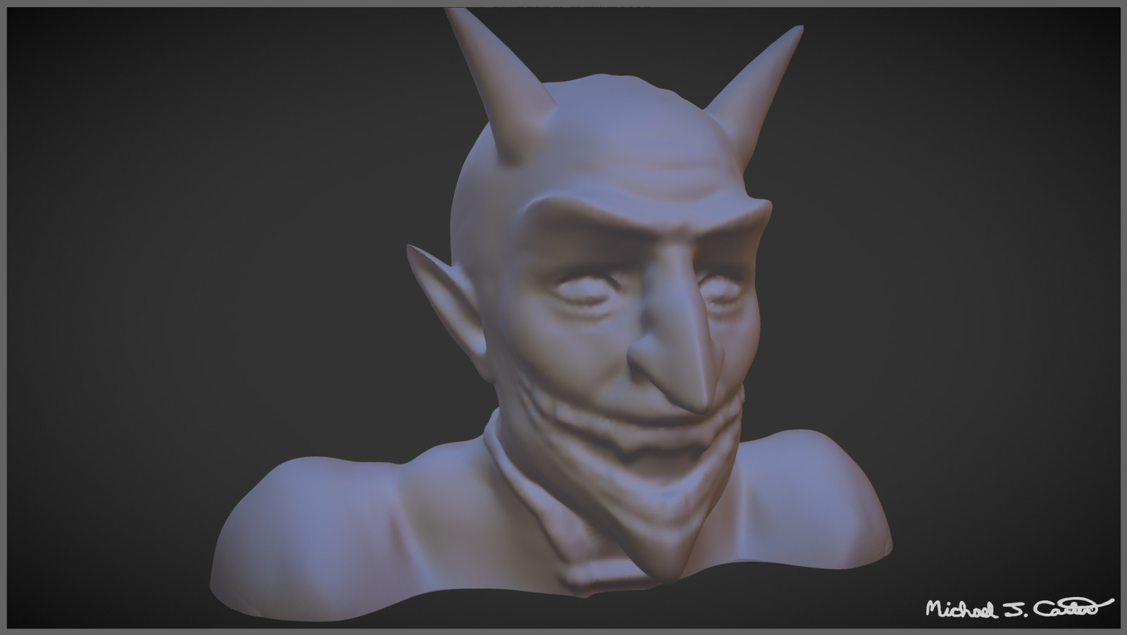 Demon Sculpt - High Poly