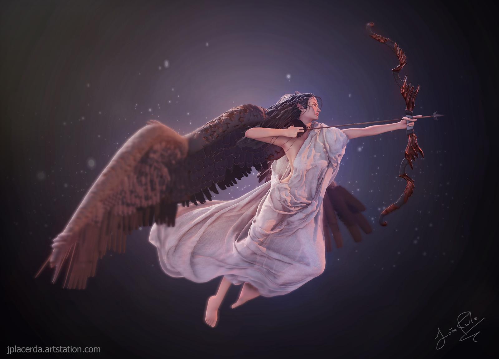 O anjo do arco