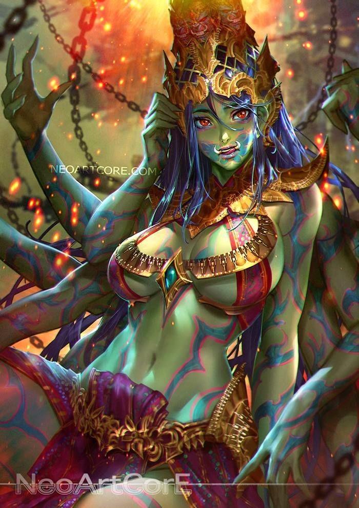 Artstation - Green Giant Female, Neoartcore Thongmai-8735