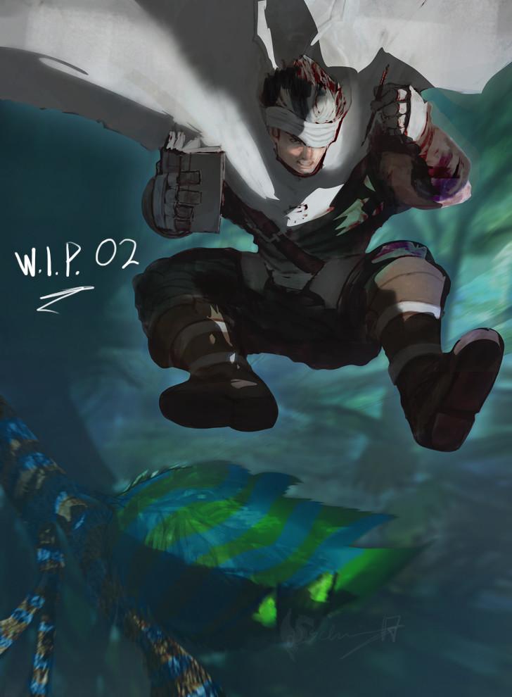 Wan's Odyssey - WIP 2