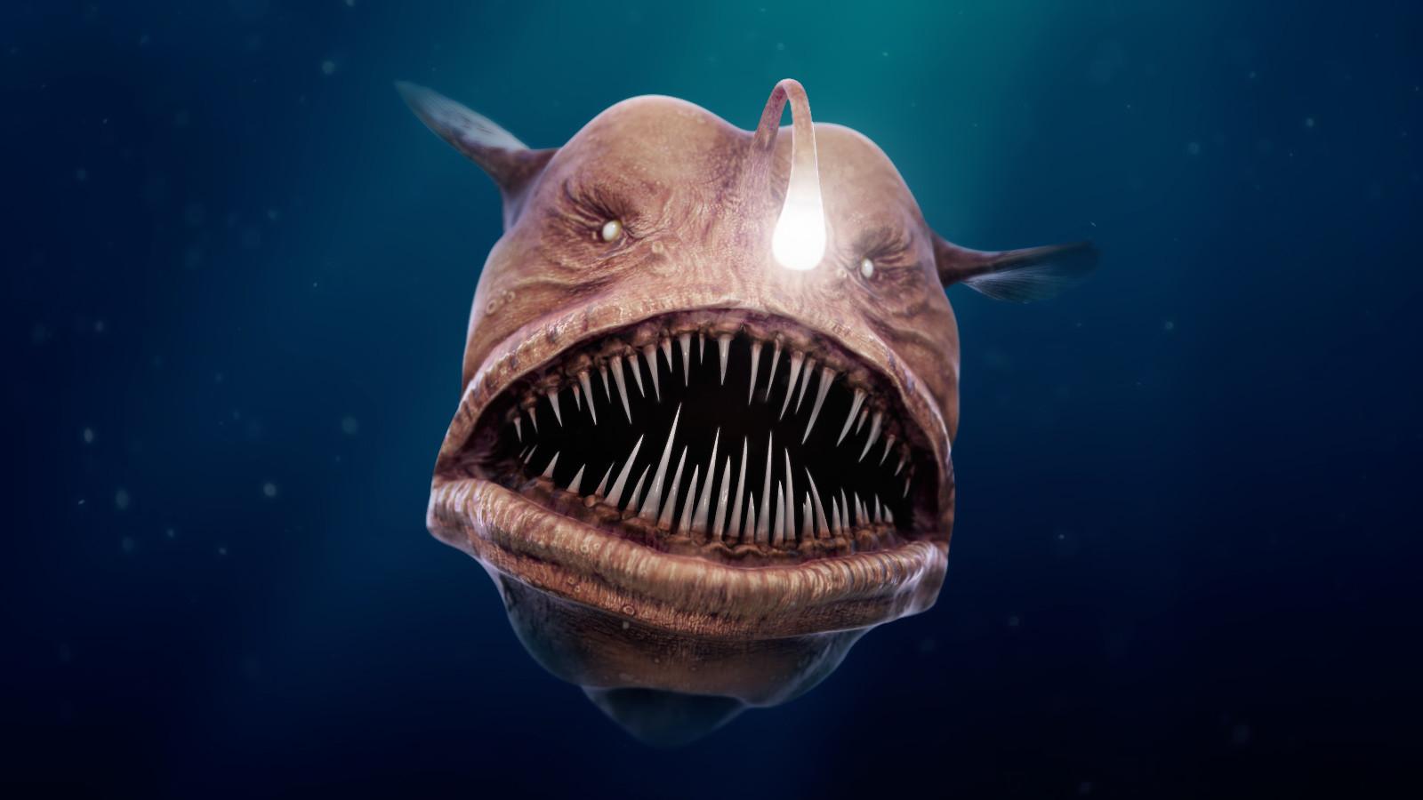 artstation big bad angler fish thomas veyrat