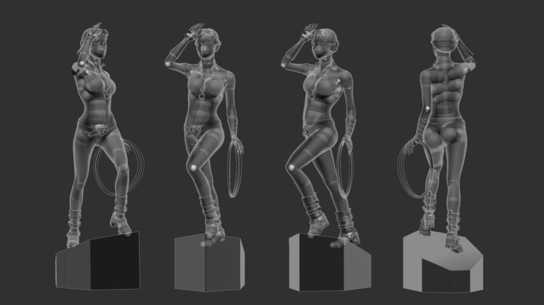 pose test (ZSphere rig)