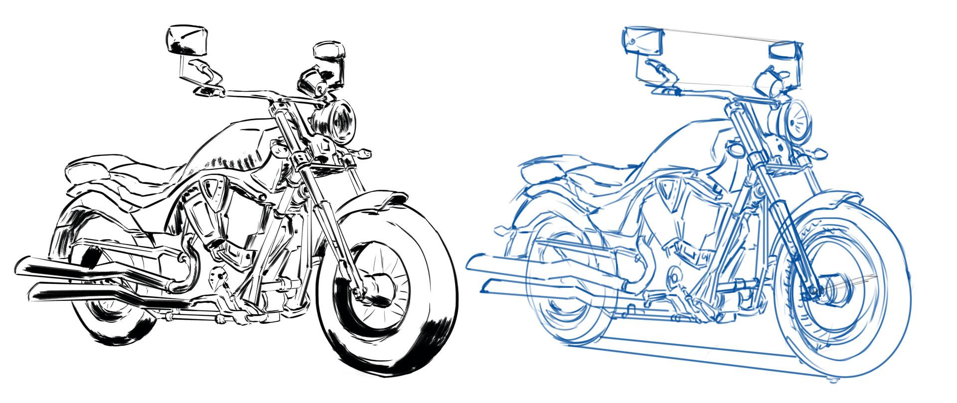 Sandra grunberg motorcycle