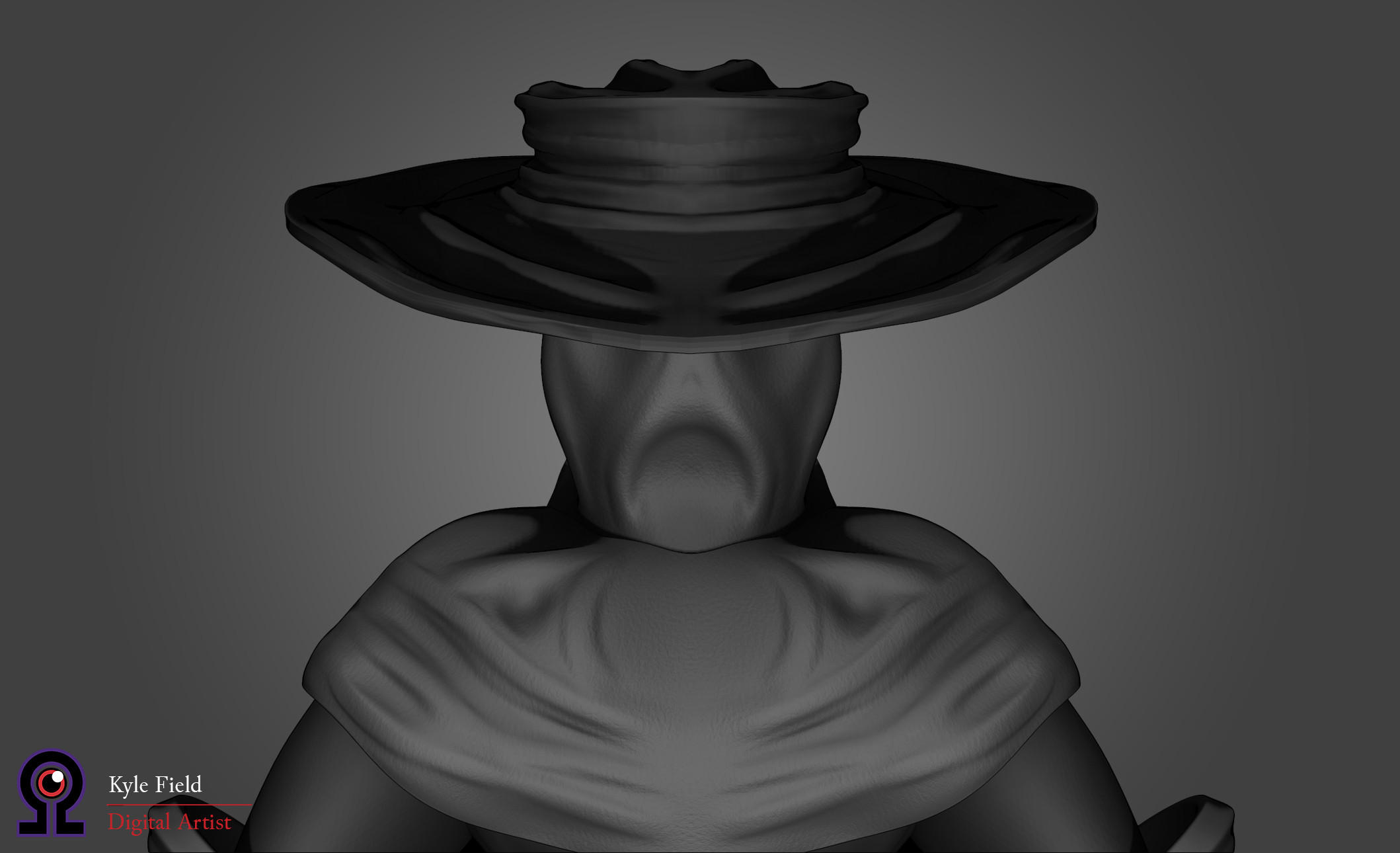 Plague Doctor: Head Detail, Rear View