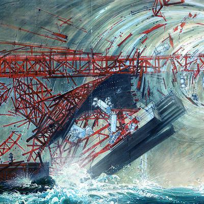 Vladimir spasojevic vladimir spasojevic x men3 magneto destroys golden gate bridge 2