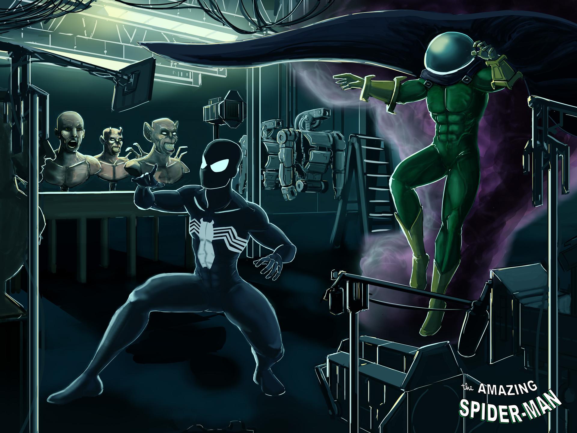 Spiderman vs Mysterio