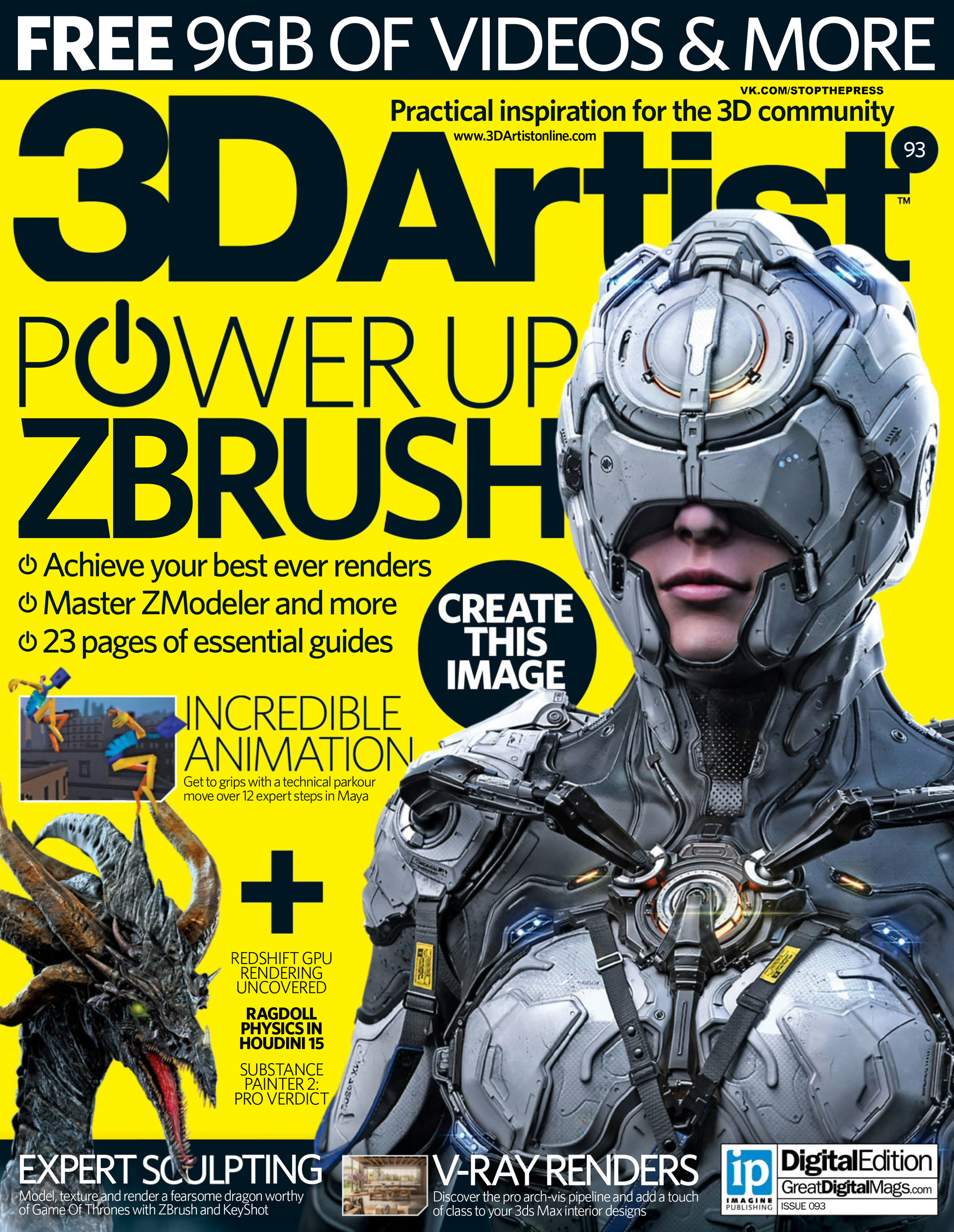 Wiktor ohman 3d artist issue 93