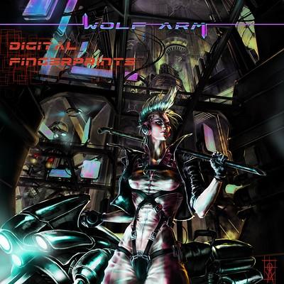 Atom cyber digital fingerprints post