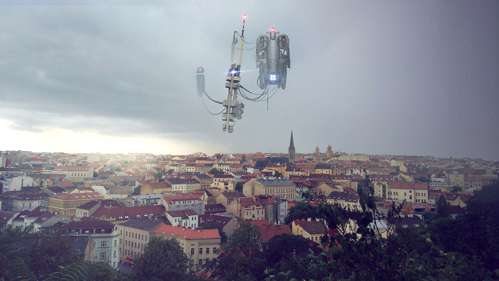 Aliens over Prague