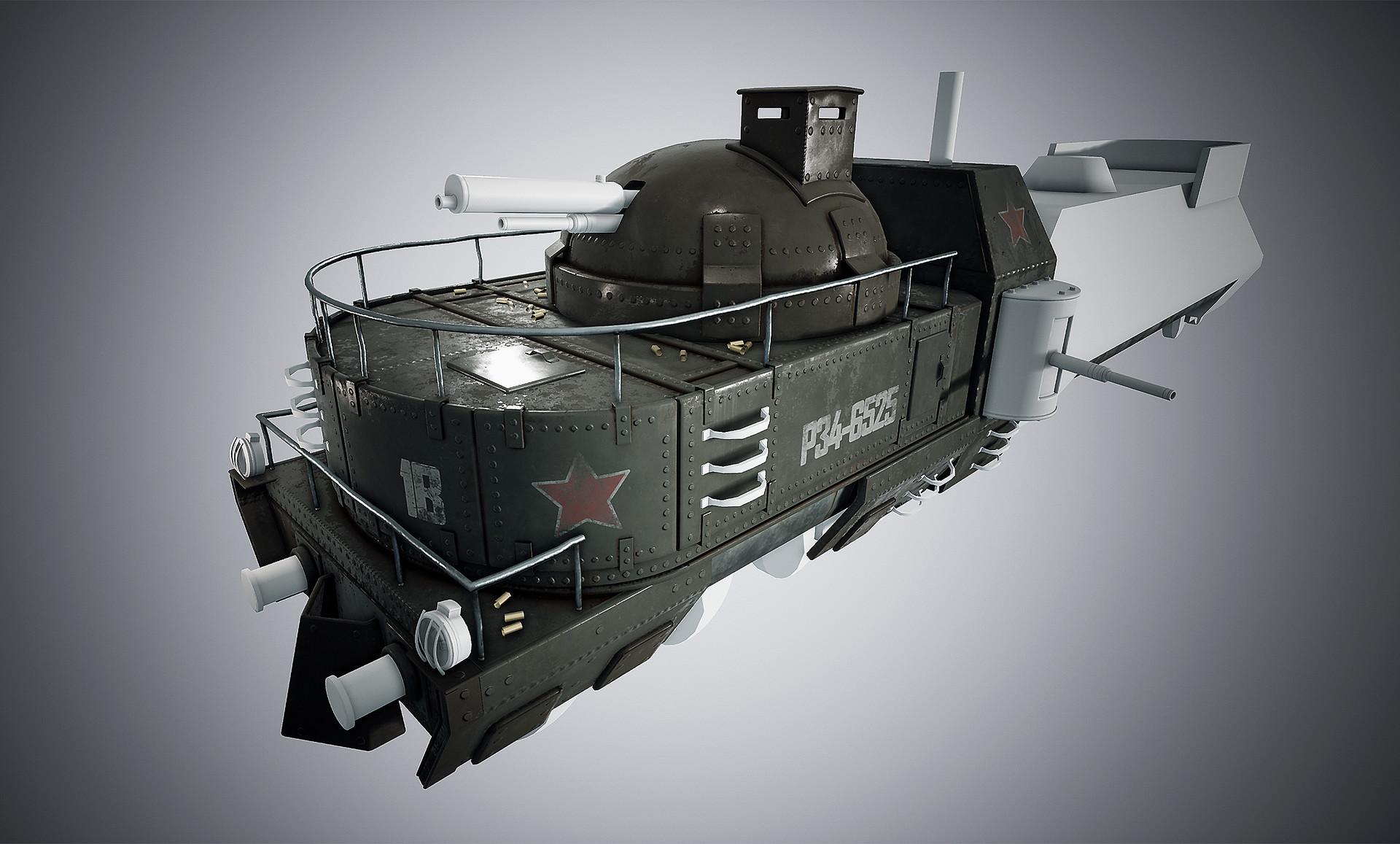 Harley wilson armortrain wip 06