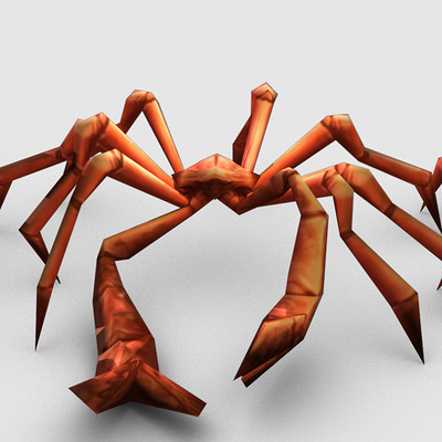 Anthony rubier render mesh crabe 1