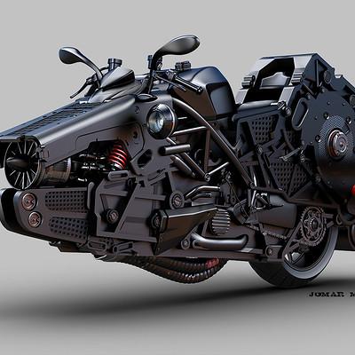 Jomar machado thx 1138 bike concept peq