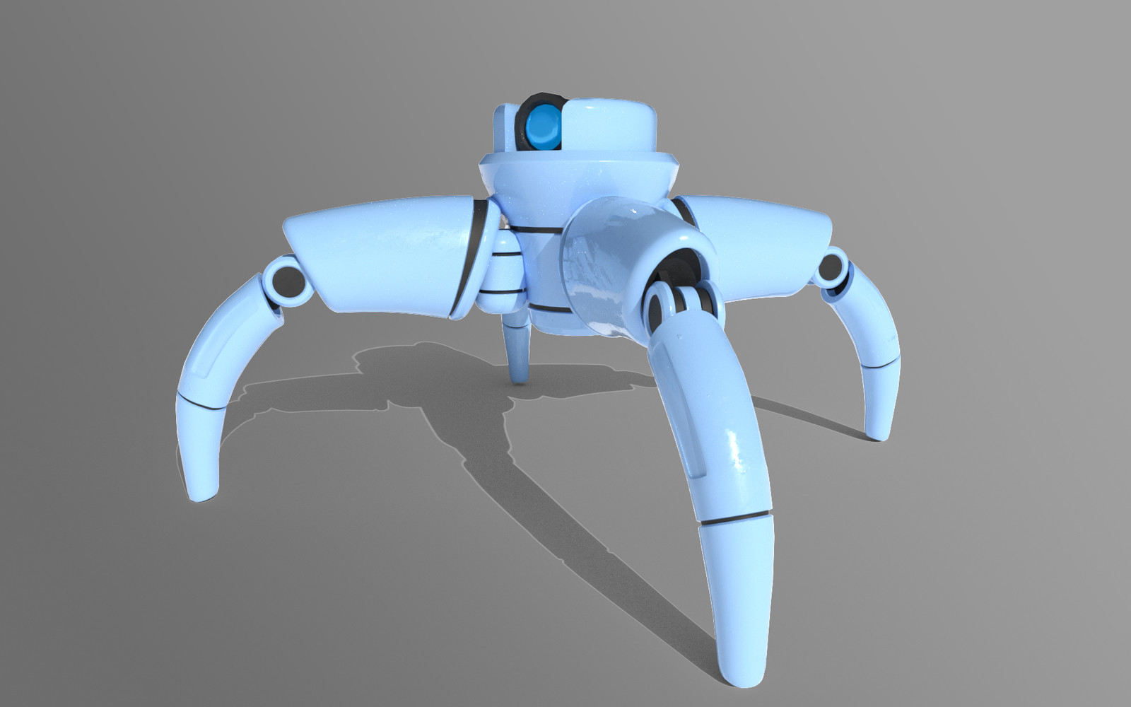 My personal favourite robot I made using the listed parts