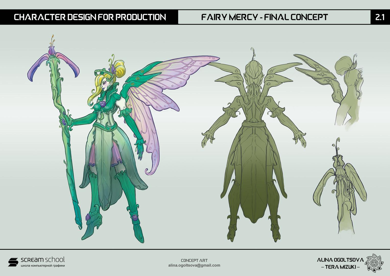 Concept Art Mercy Overwatch