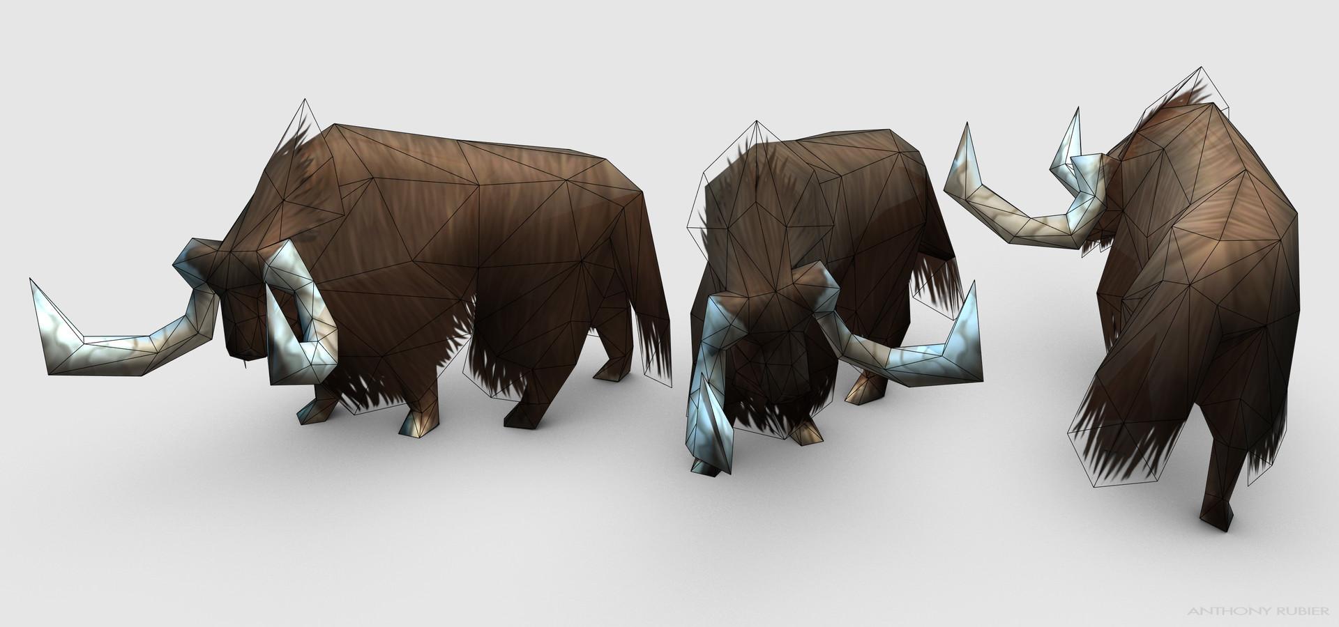 Anthony rubier render mesh yack 2