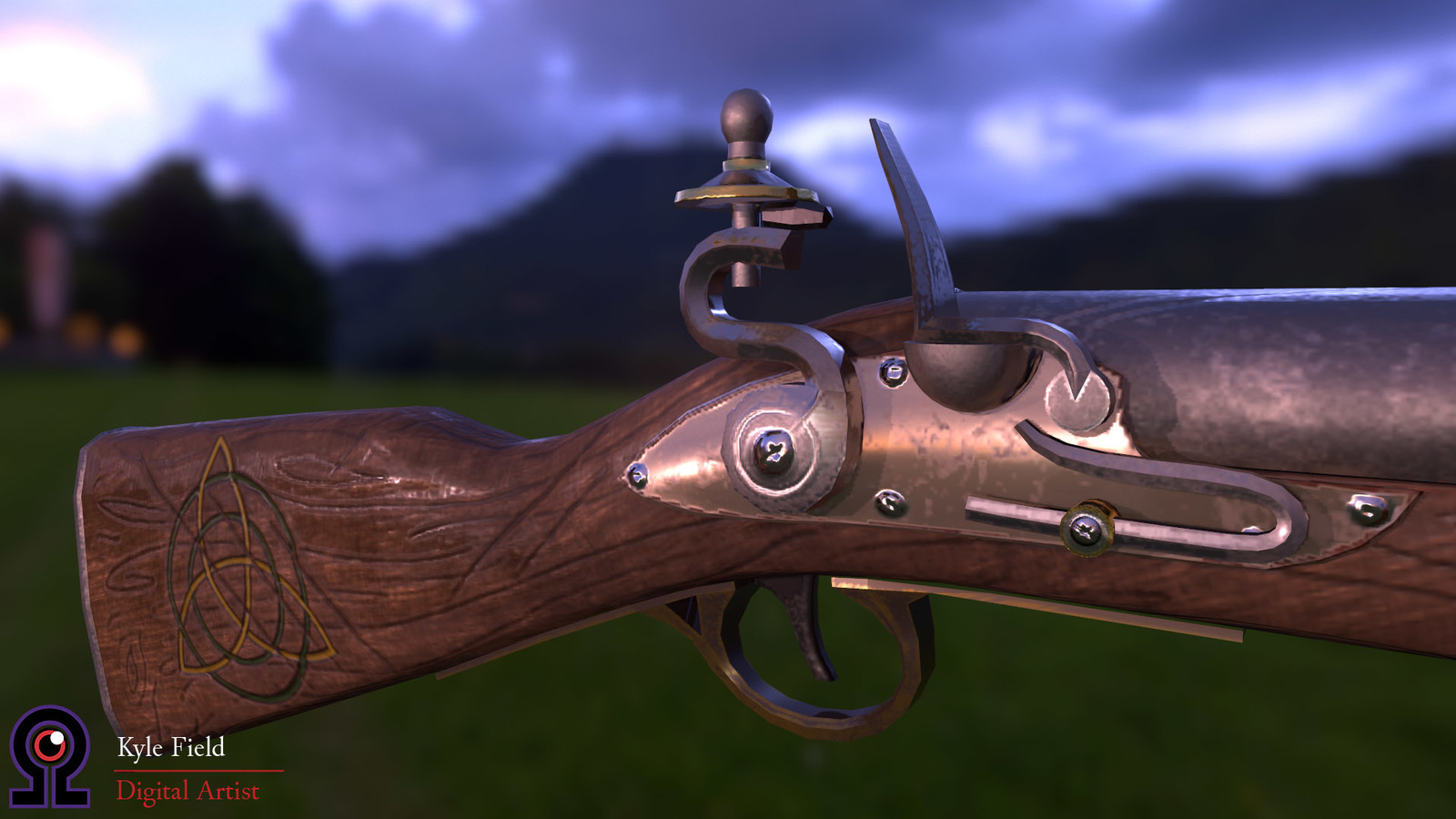 """Thicket"": Flintlock Mechanism Detail"