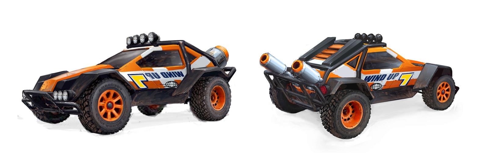 CastAR Racer Vehicle Concepts