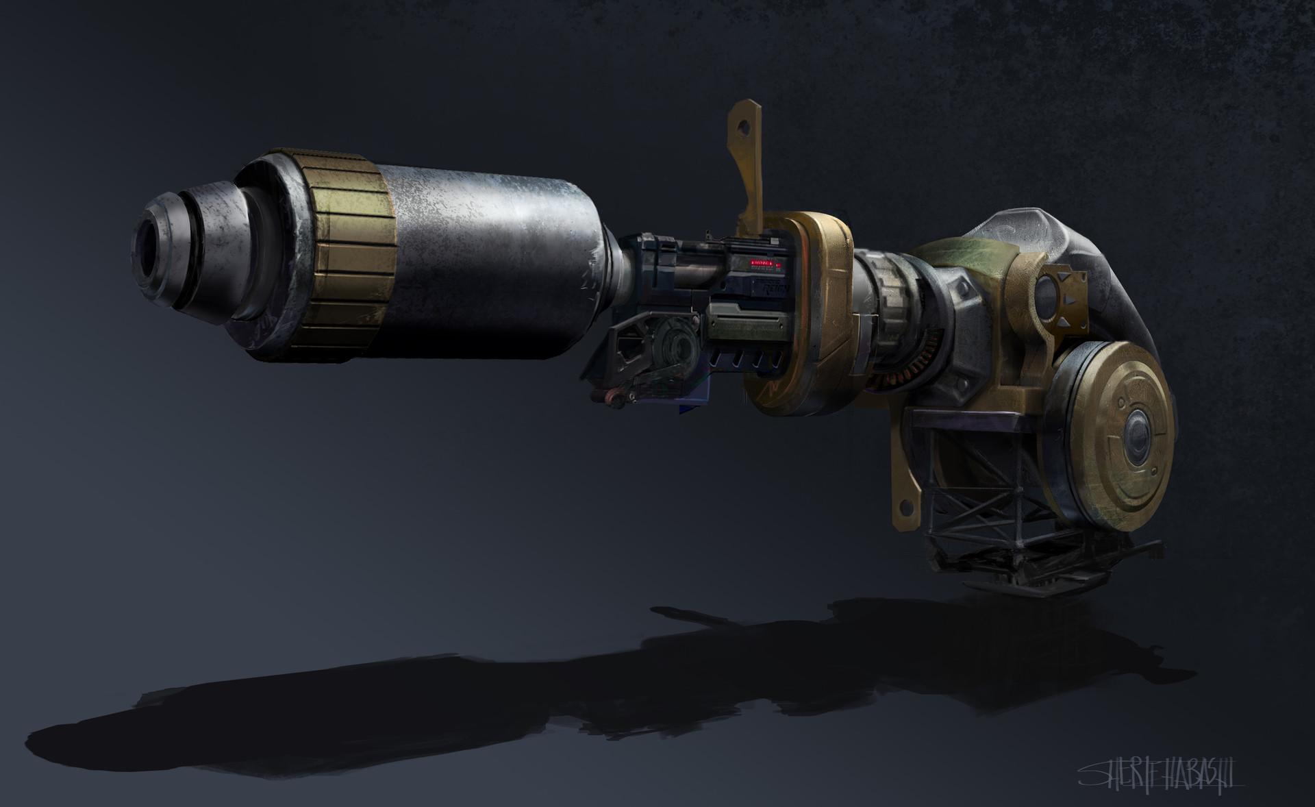 Sherif habashi destroyer beam light2