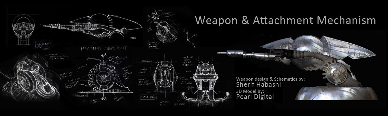 Sherif habashi weapon attachment system2 concept2
