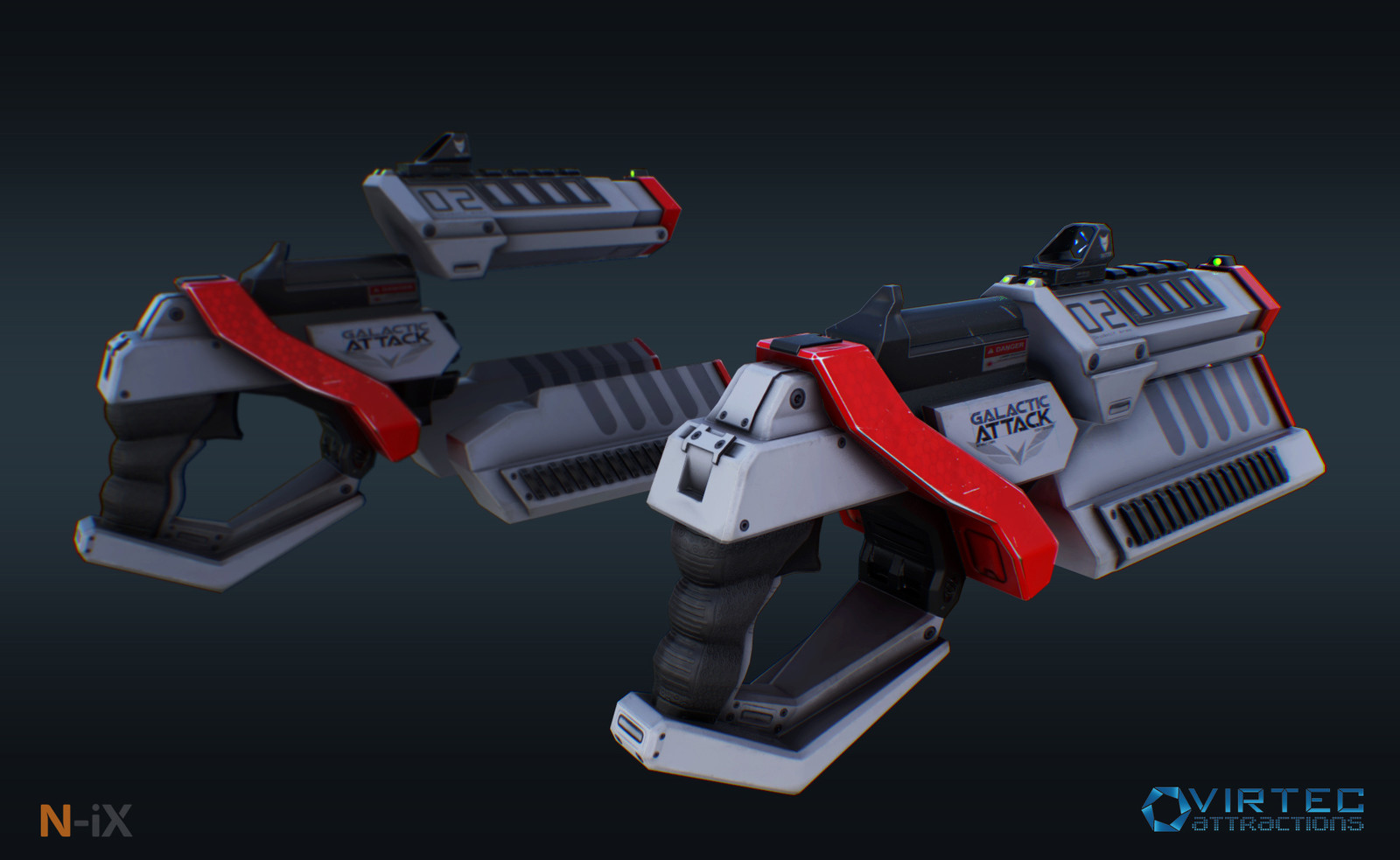 SciFi guns