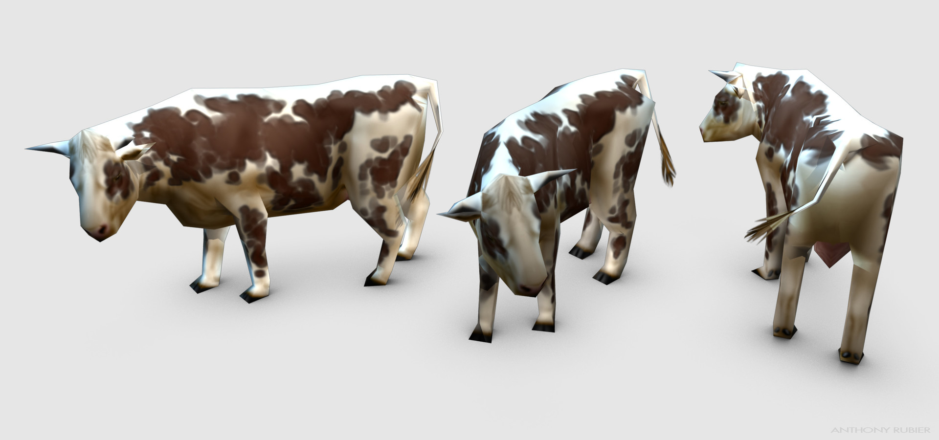 Anthony rubier render mesh vache 1