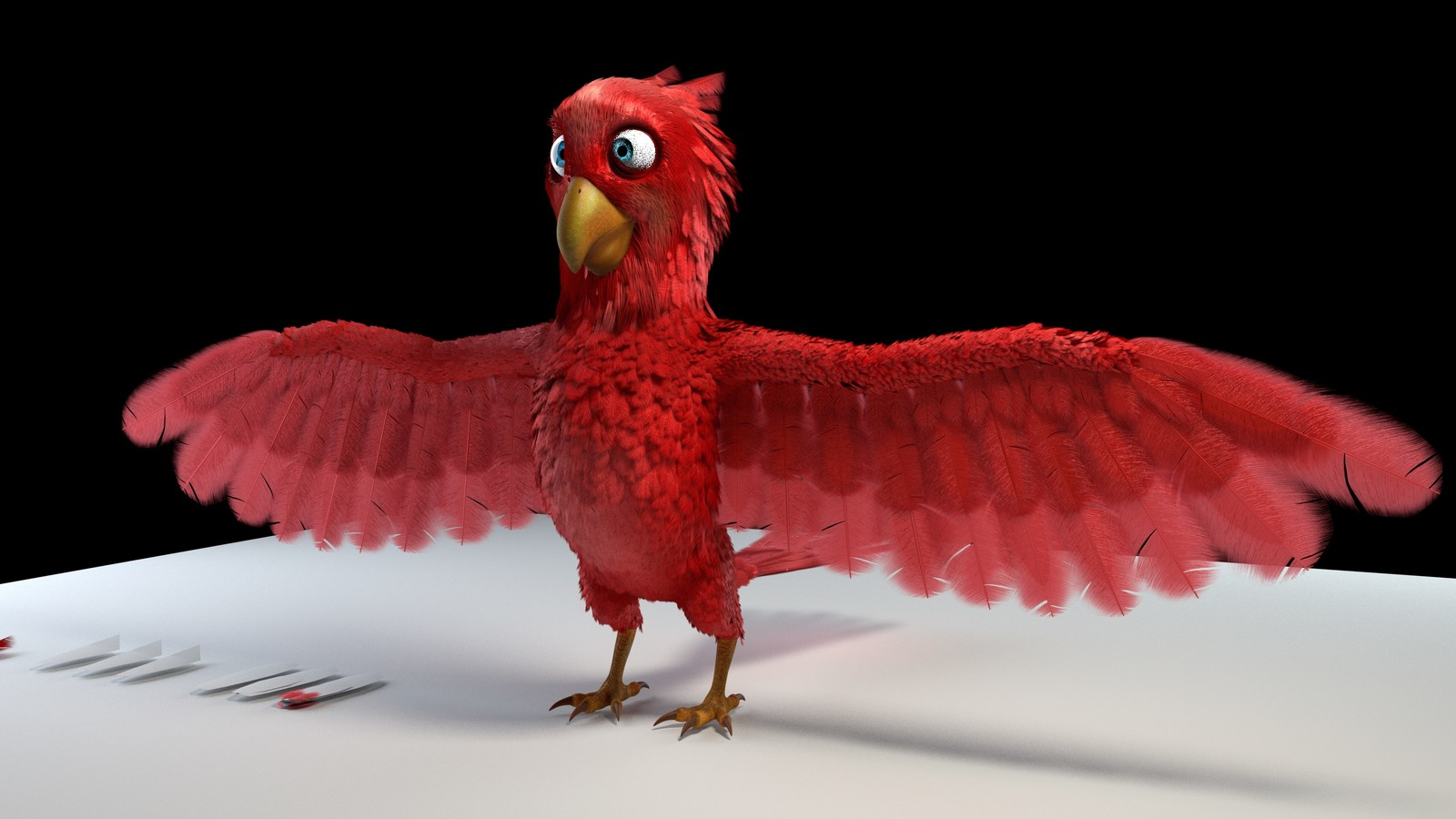 Pierro (Inspired from Kent Trammel's CG Cookie 3D Character Animation Course)