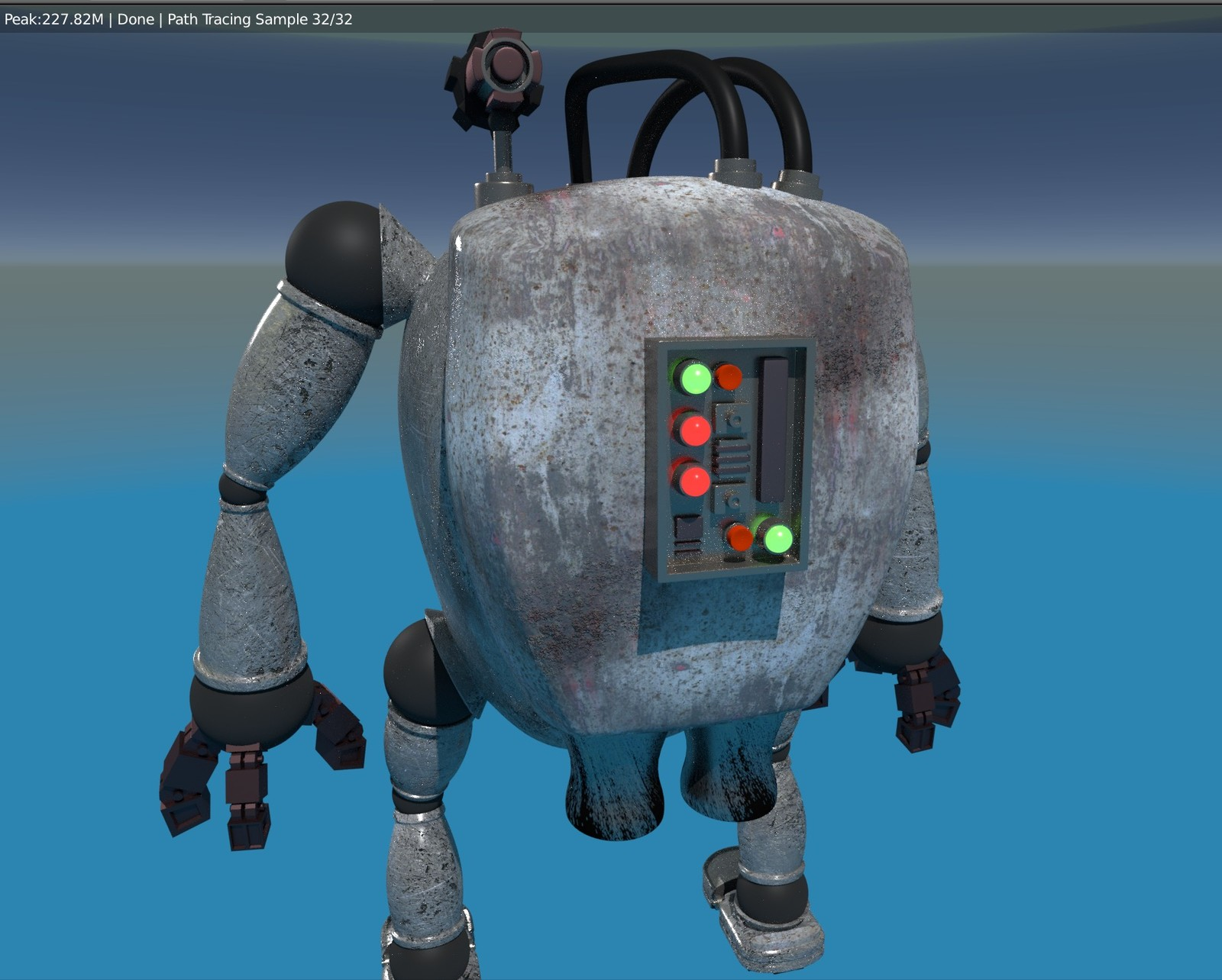 """""""The Mech"""" back  (courtesy Darrin Lile Course)"""
