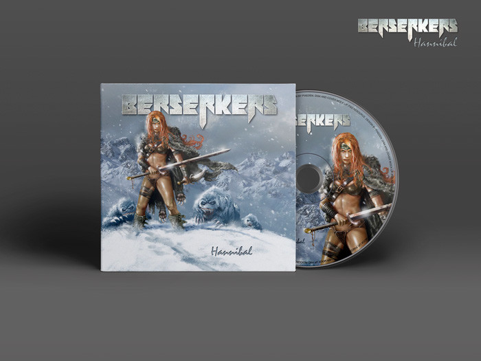 BERSERKERS | CD cover digipack