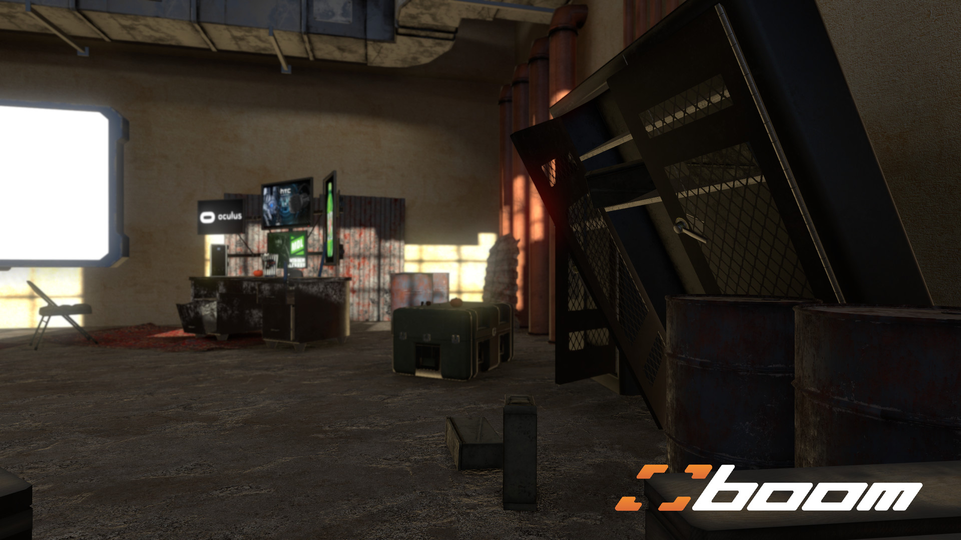 Kevin M  Castaneda - Boom tv VR Environments