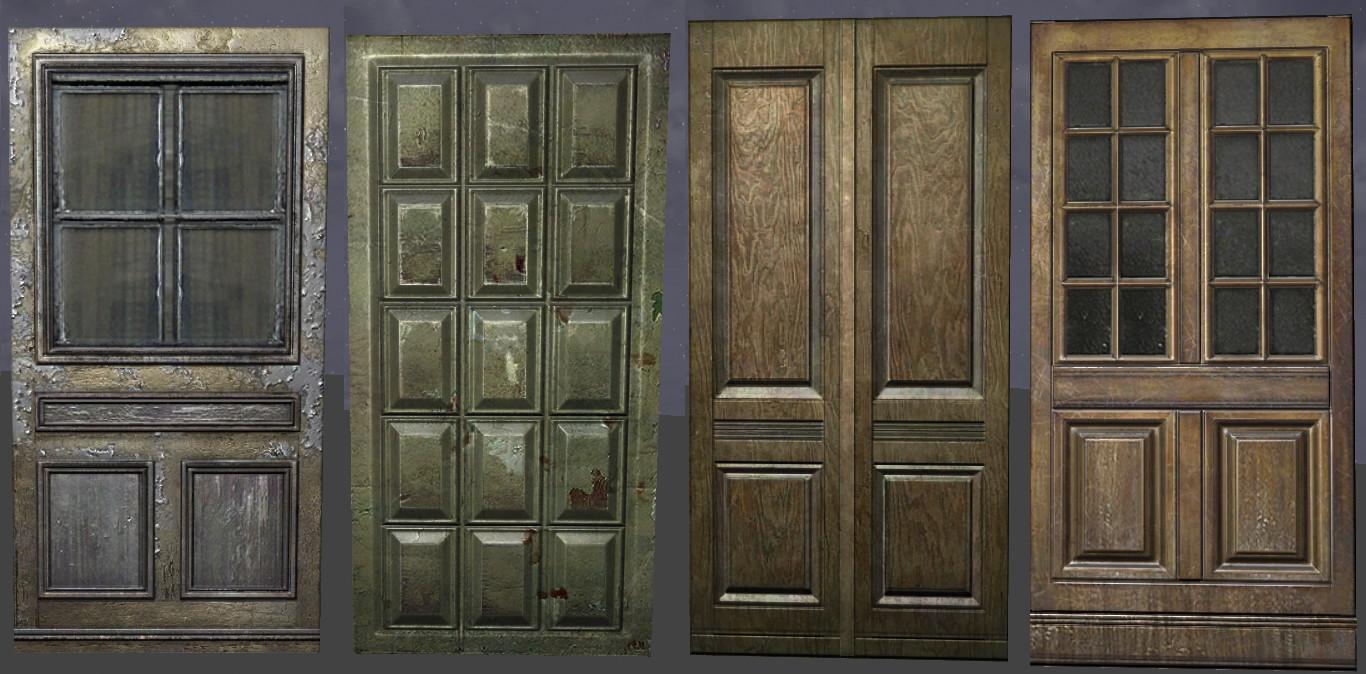Michael leonard doors & Michael Leonard - Wolfenstein props