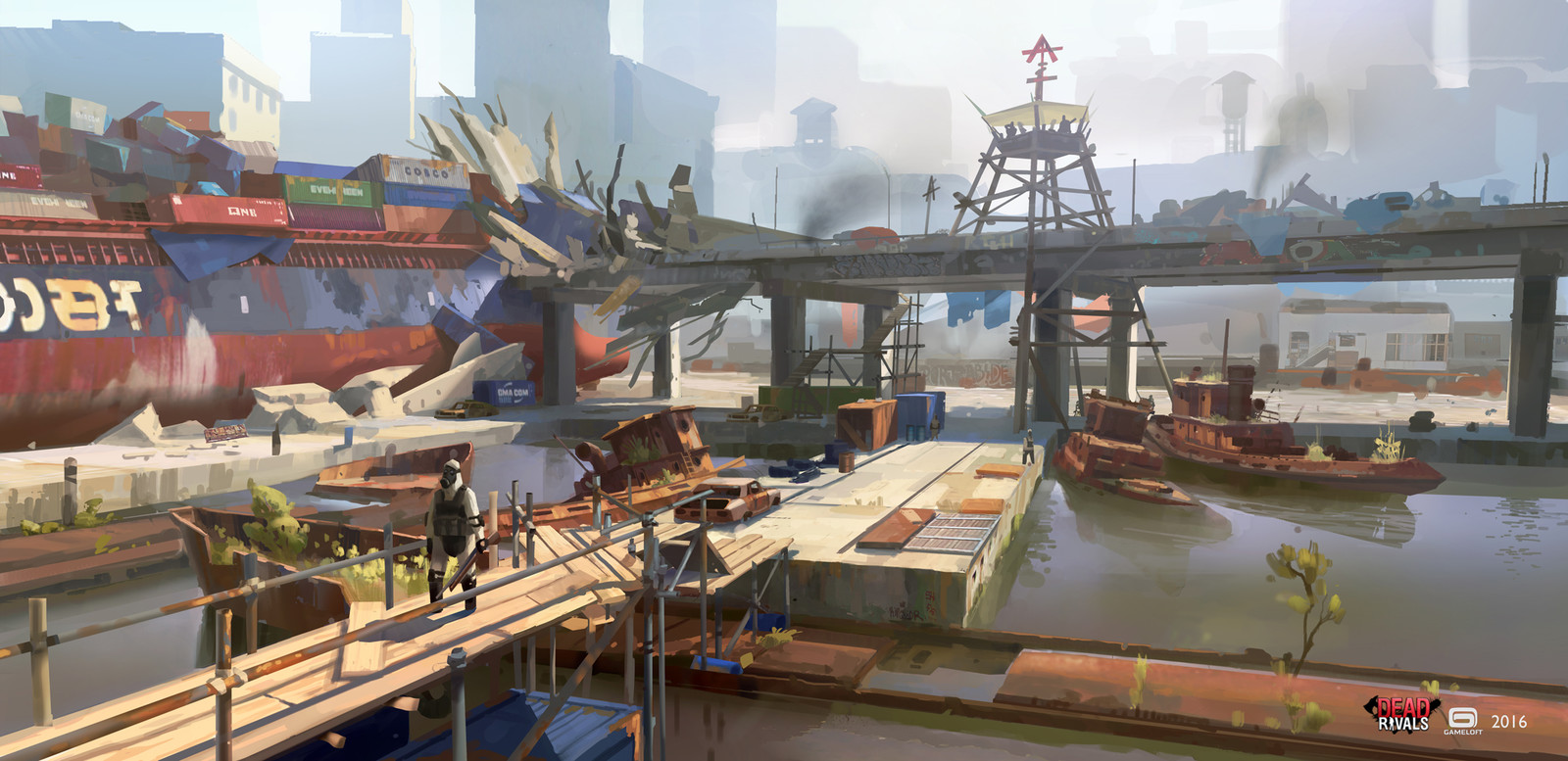 Dead Rivals - Port Areas