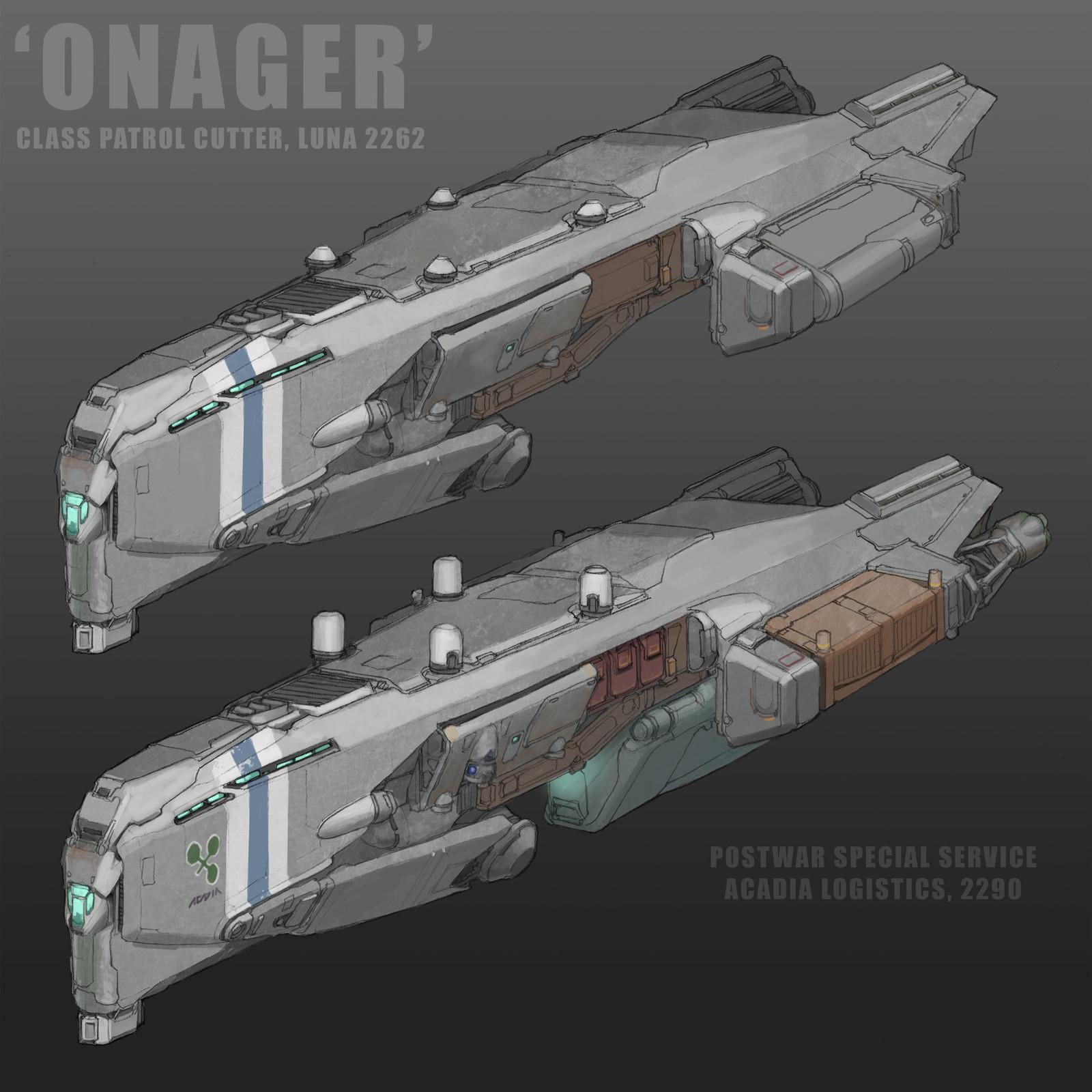 'Onager' Class Patrol Cutter