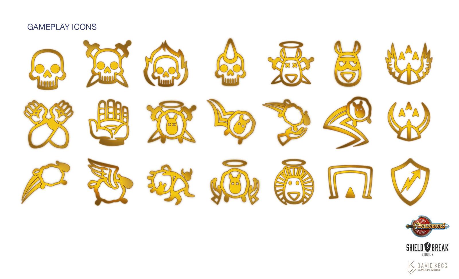 Gameplay Icons