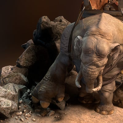 (2014)  Elephant - Updating Old Characters to PBR Part 2