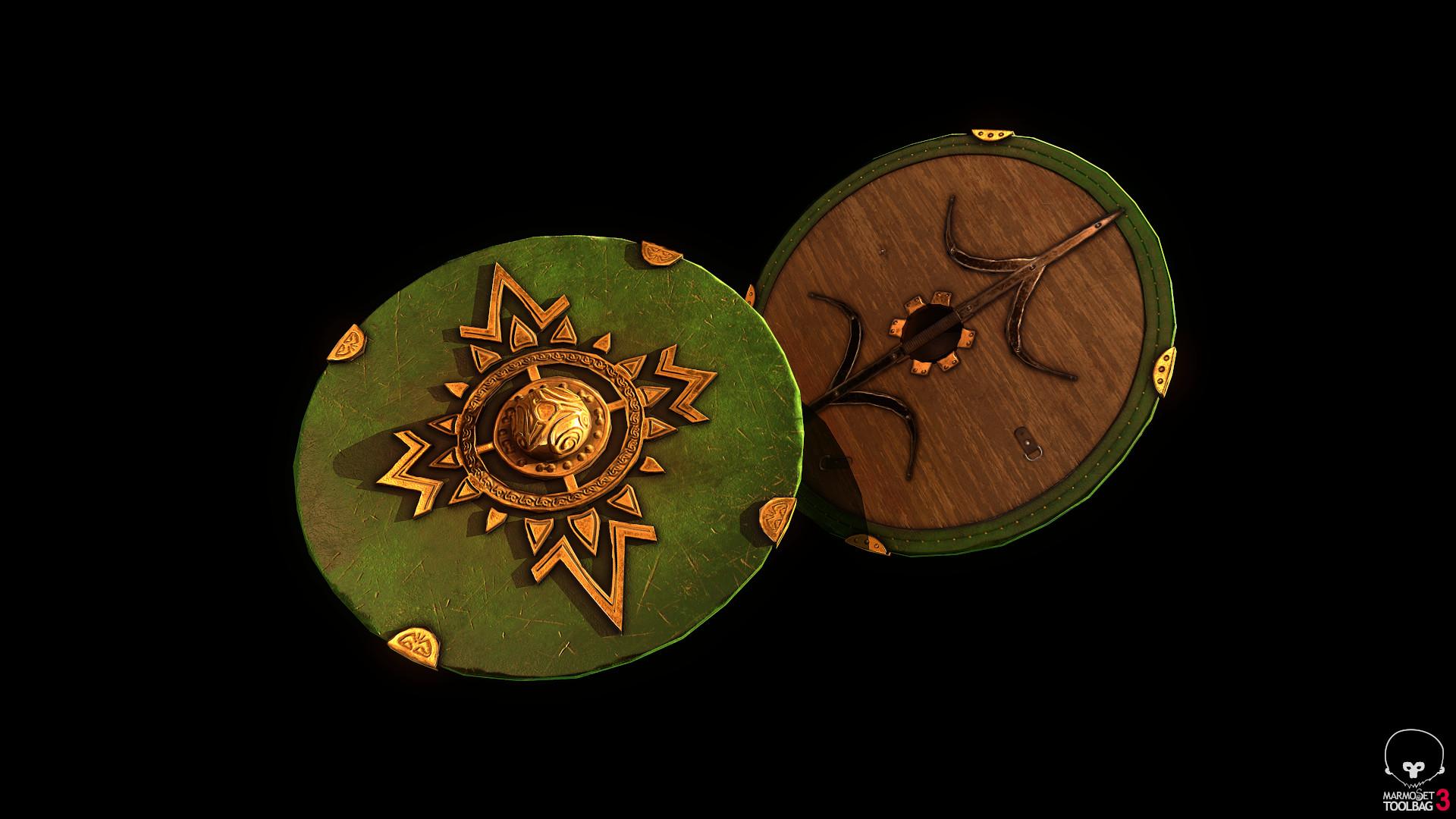 Bela csampai s4h rohan shield eorl guard 01 render mt 01