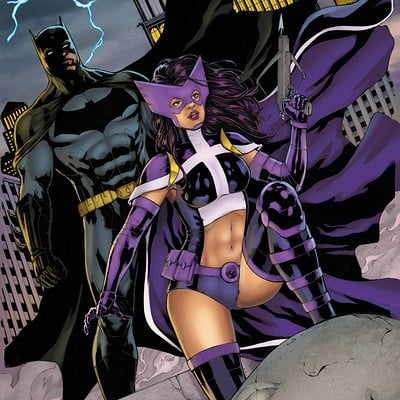 Matt james batman and huntress by snakebitartstudio dbgzakz