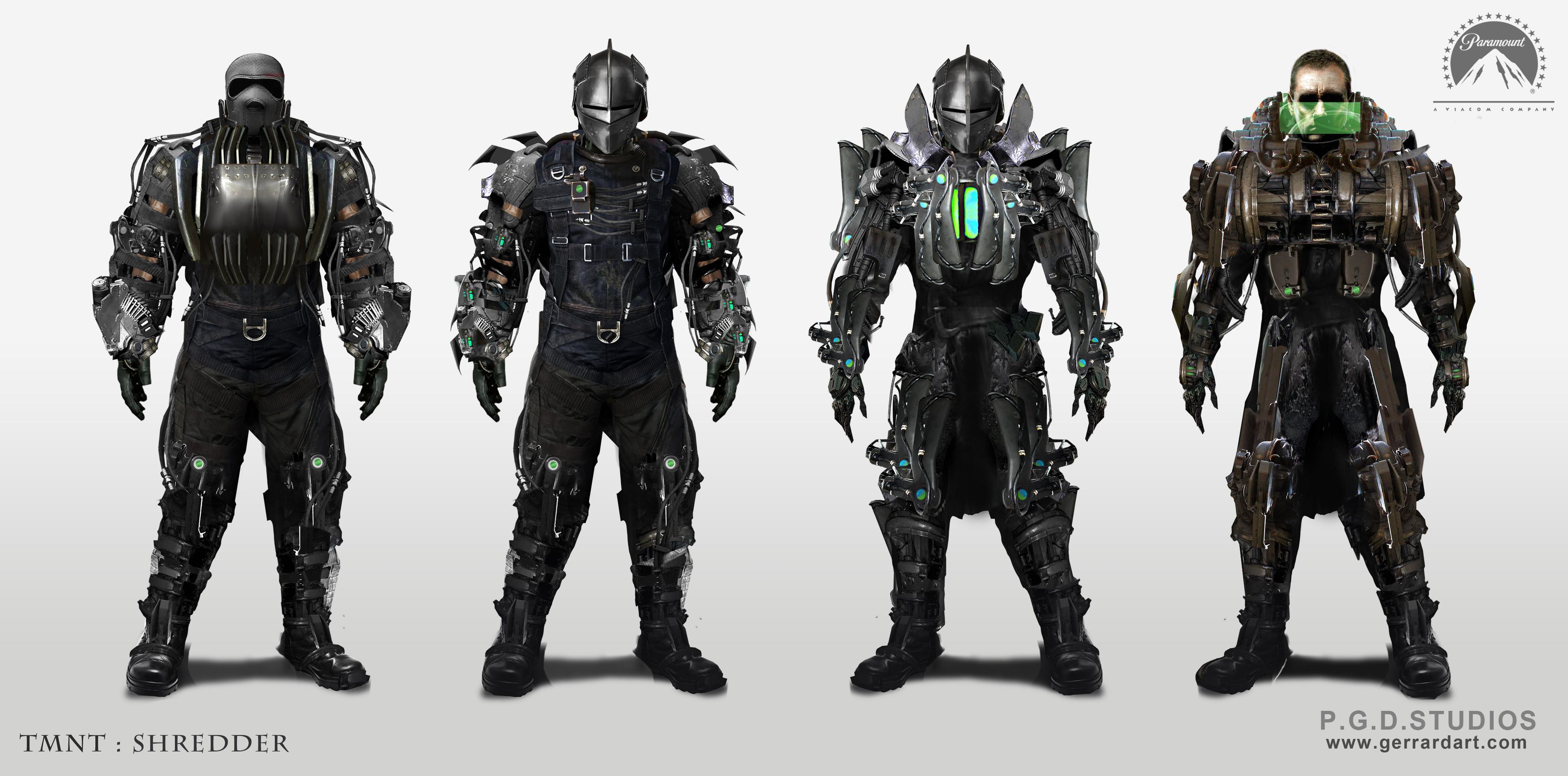 TMNT Costume Design set 2