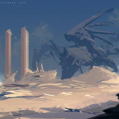 Benedick bana titan creature tiamat lores