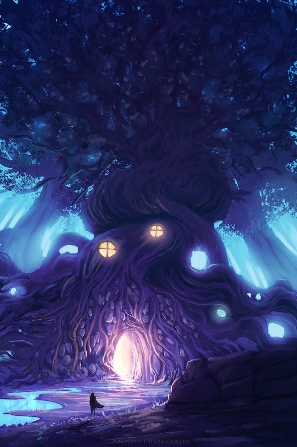 Anato finnstark in the heart of the forest by anatofinnstark dbh06rz