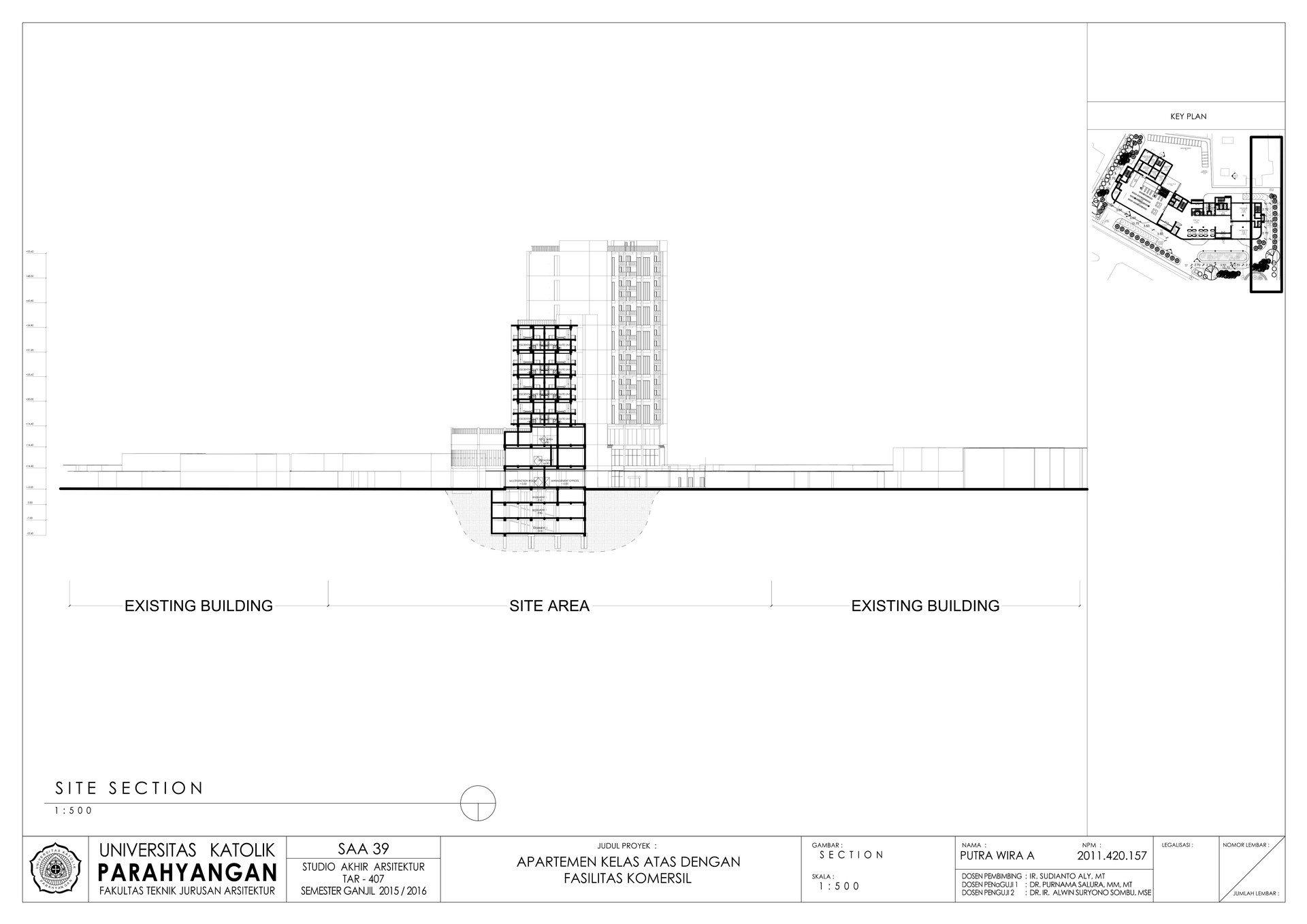 Putra wira adhiprajna 12 site section
